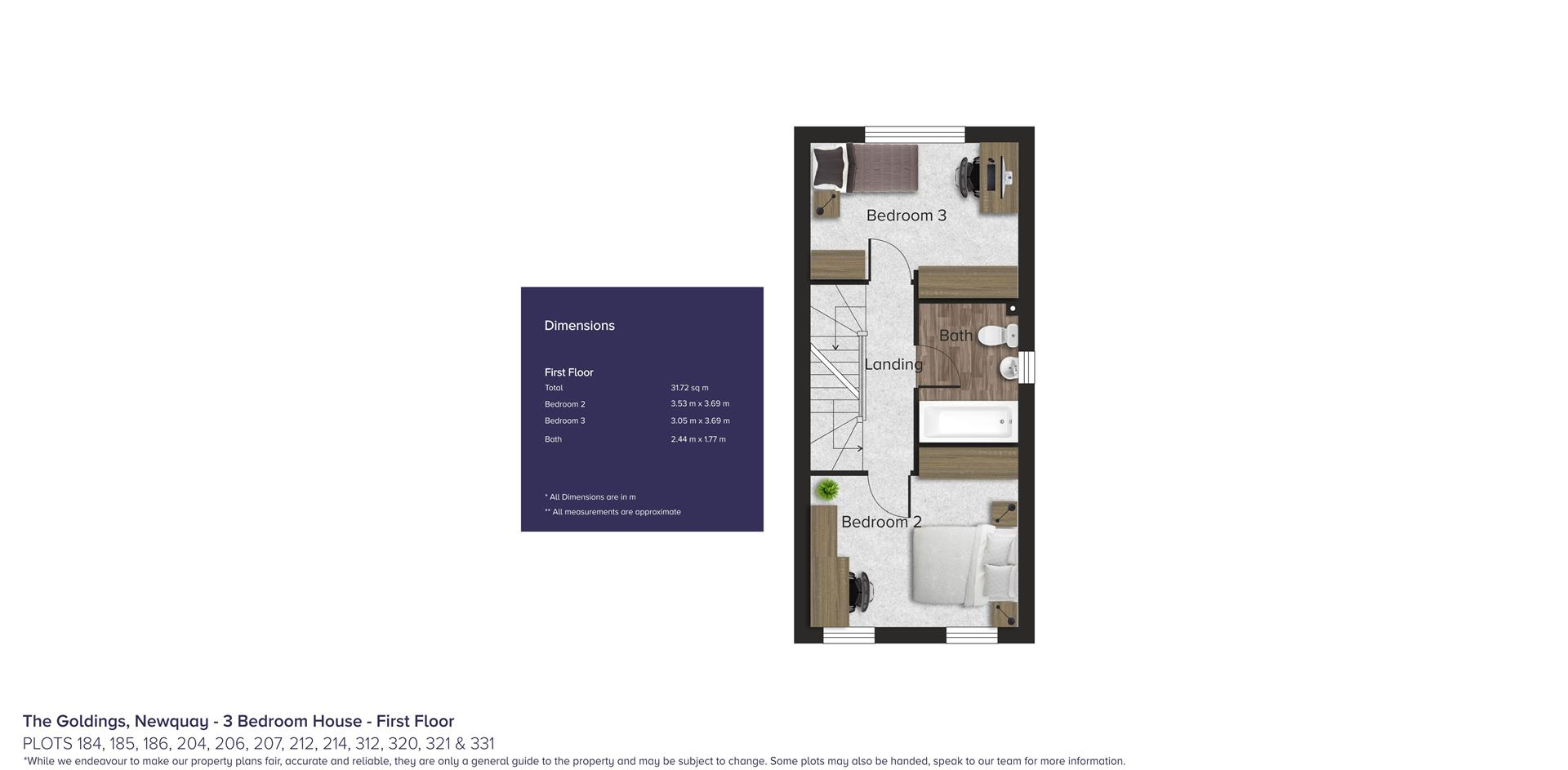 The Goldings, Newquay_Plots 184, 185, 186, 204, 20